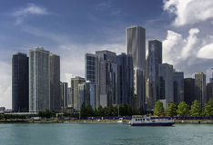 Chicago Skyline Royalty Free Stock Images