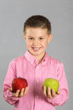 The child of apples 23 Royalty Free Stock Images