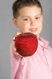 The child of apples 13 Stock Photos