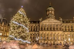 Amsterdam light festival royalty free stock images