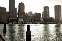 Photograph of City Skyline Stock Photography