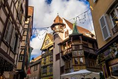 Colmar in christmas stock images