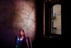 Photograph, Darkness, Light, Girl stock photography