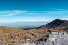Nevado de Toluca. Photograph of the Nevado de Toluca captured in the month of October 2016 royalty free stock photos