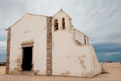 Old church in ruins Royalty Free Stock Images
