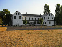 Old Military Barracks Building Stock Image
