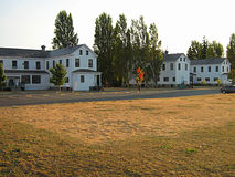 Old Military Barracks Buildings Royalty Free Stock Photo