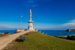 Comillas parc. Photograph of a parc in Comillas, Cantábria, Spain Stock Photo