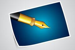 Photograph of Pen Royalty Free Stock Photo
