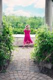 Photograph, Pink, Flower, Dress Royalty Free Stock Photography