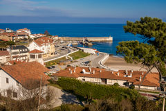 Comillas. Photograph of port de Comillas in Cantábria, Spain Stock Images