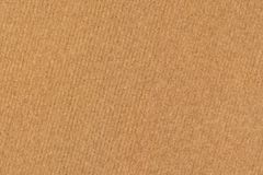 Photograph of Recycle Coarse Grain Striped Brown Kraft Paper Grunge Texture.  Royalty Free Stock Photography