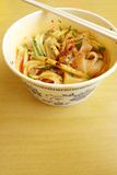 Chinese take away - cold noodles dish Stock Images