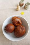 Chinese snack food - tea leaf eggs royalty free stock photography