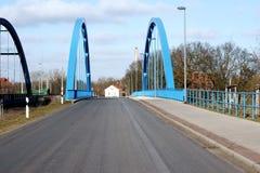 Street bridge Royalty Free Stock Images