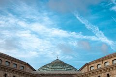 Photography of a dome royalty free stock image