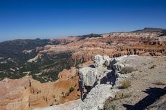 Cedar Breaks National Monument stock image