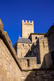 Cacassonne tower. Photograph of tower of Cacassone ,Carcassonne, France Royalty Free Stock Image