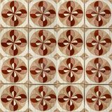 Collection of brown patterns tiles Royalty Free Stock Photo