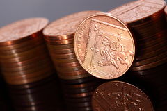 Two pence coins A Stock Images