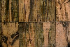 Wood boards. This photograph was taken in Matinhos, Paraná, Brasil. March 18, 2018 Stock Photography