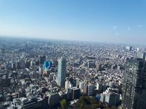 Tokio City View Royalty Free Stock Image