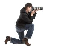 Photographe Image stock
