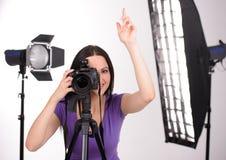 Photographe au travail photo libre de droits