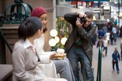 Photographe commercial Photo libre de droits