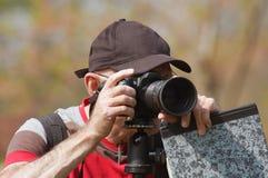 Photographe dans l'action Photos libres de droits