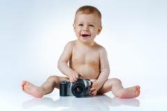 Photographe de bébé Photo libre de droits