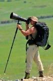 Photographe de faune extérieur photos libres de droits