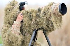 Photographe de faune extérieur photos stock