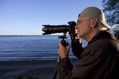 Photographe de nature Photo stock
