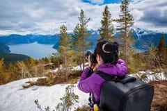 Photographe de nature Images libres de droits