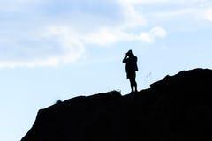 Photographe de passe-temps Image libre de droits