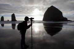 Photographe de paysage Photographie stock libre de droits
