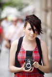 Photographe de sourire Image libre de droits