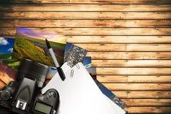Photographe Desk Illustration de Vecteur