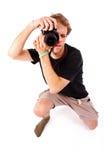 Photographe drôle photos stock
