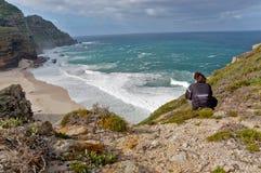 Photographe en Afrique du Sud Photo stock