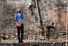 Photographe féminin chinois Photos libres de droits