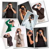 photographen Lizenzfreie Stockfotos