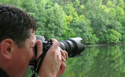 The photographer Royalty Free Stock Photo