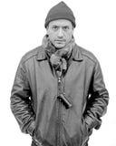 The Photographer. Street Portrait of a man Stock Photo