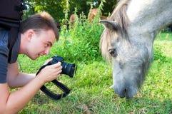 Photographer. Stock Image