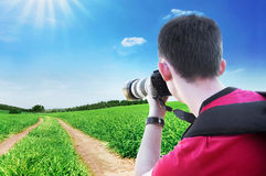 Photographer. Stock Photo