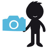 photographer Fotografie Stock