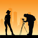 Photographer Stock Photo