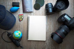 Photographer accessories Stock Photography